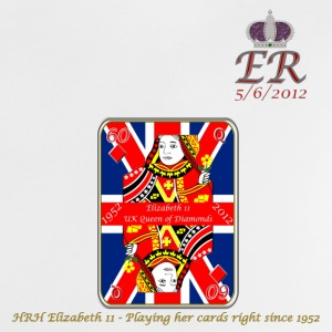 hrh queen of diamonds jubilee 2012 Baby Shirts  - Baby T-Shirt