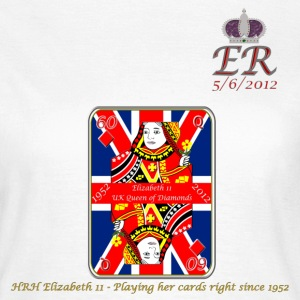 hrh queen of diamonds jubilee 2012 T-Shirts - Women's T-Shirt