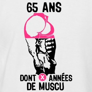 65 ans musculation bodybuilding anniver Tee shirts - T-shirt baseball manches courtes Homme