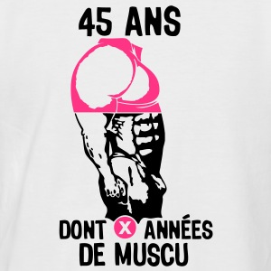 45 ans musculation bodybuilding anniver Tee shirts - T-shirt baseball manches courtes Homme