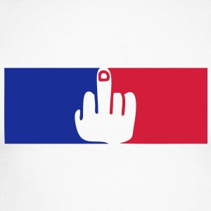 fuck francais france gouvernement republ Tee shirts manches longues - T-shirt baseball manches longues Homme
