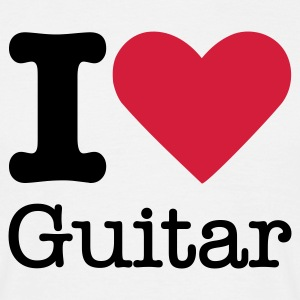 I Love Guitar T-Shirts - Men's T-Shirt