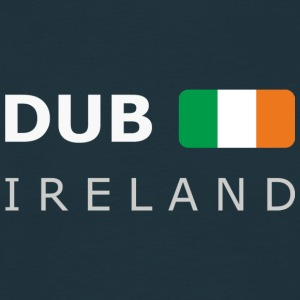 Classic T-Shirt DUB IRELAND white-lettered - Men's T-Shirt