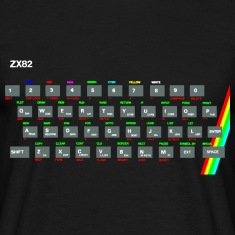 ZX81 (Zed-Ex) Spectrum Keyboard T-Shirts