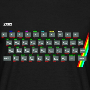 ZX81 (Zed-Ex) Spectrum Keyboard T-Shirts - Men's T-Shirt