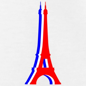 Tours Eiffel tricolore Tee shirts Enfants - T-shirt Ado