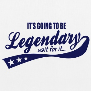 it's going to be legendary- epic style Bags  - EarthPositive Tote Bag