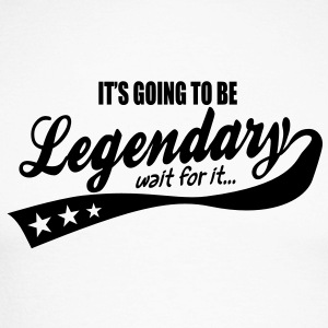 it's going to be legendary- epic style Long sleeve shirts - Men's Long Sleeve Baseball T-Shirt