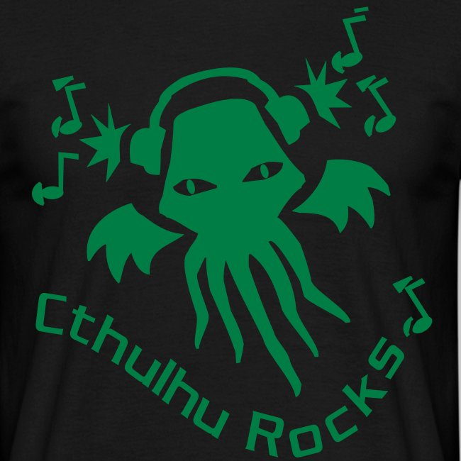 MTEg: Cthulhu Rocks (green)