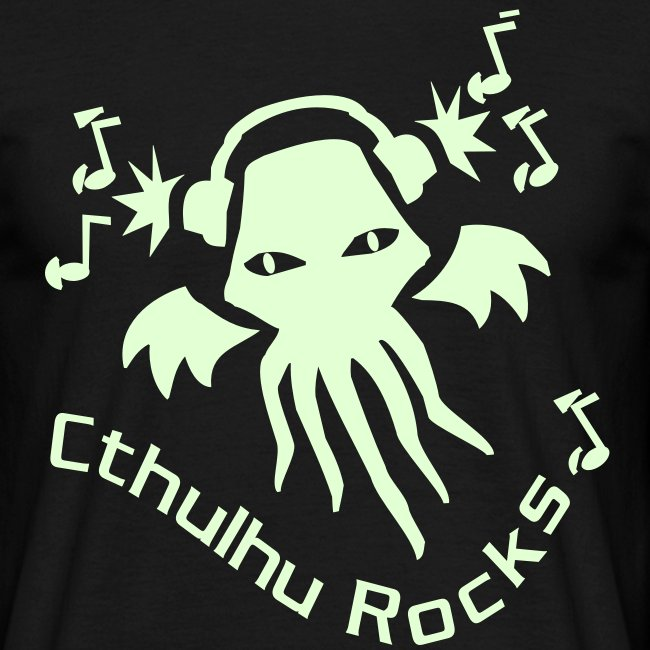 MTEdl: Cthulhu Rocks (glow in the dark)