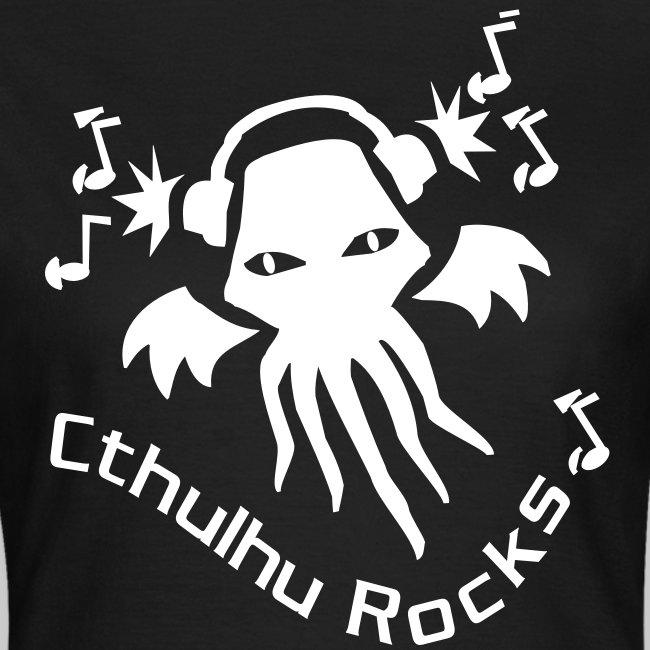 WTEw: Cthulhu Rocks (white)