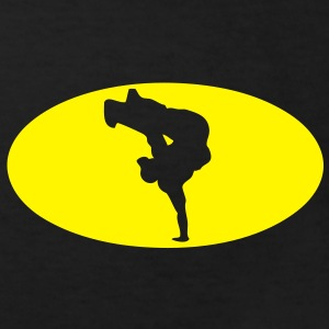 breakdance logo bat 16023 Tee shirts Enfants - T-shirt Bio Enfant