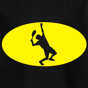 tennis logo bat1 Tee shirts Enfants - T-shirt Enfant