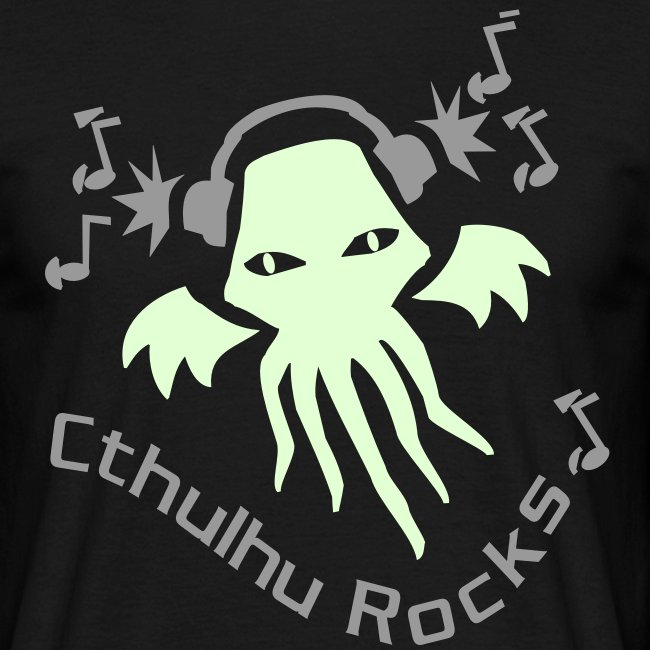 MTEdldk: Cthulhu Rocks (2 colours)