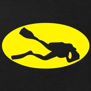 scuba diving logo bat plonger sousmarine Tee shirts Enfants - T-shirt Bio Enfant