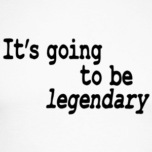 it's going to be legendary Long sleeve shirts - Men's Long Sleeve Baseball T-Shirt