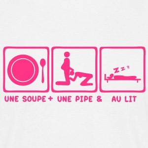 soupe pipe lit bed blowjob2 Tee shirts - T-shirt Homme