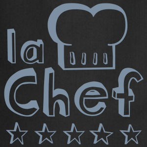 La Chef mother, wife or woman always cooks best   Aprons - Cooking Apron