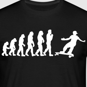 skateboard evolution T-Shirts - Männer T-Shirt