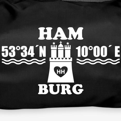 Hamburg Koordinaten Wappen 1c A / Längengrad Bre
