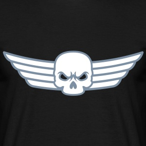 Skull and Wings T-Shirts - Männer T-Shirt