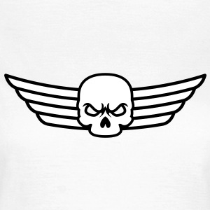 Skull and Wings T-Shirts - Vrouwen T-shirt