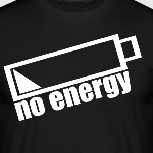 no energy T-Shirts - Männer T-Shirt