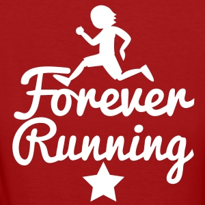 FOREVER RUNNING! awesome runners shirt T-Shirts - Women's Organic T-shirt