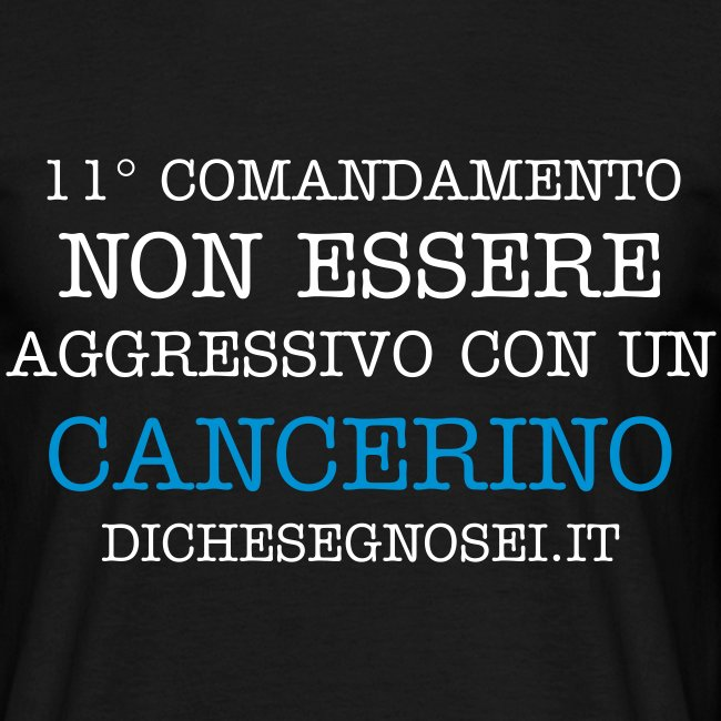 T-SHIRT CANCRO