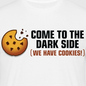 Come To The Darkside 2 (dd)++ T-shirts - Mannen T-shirt