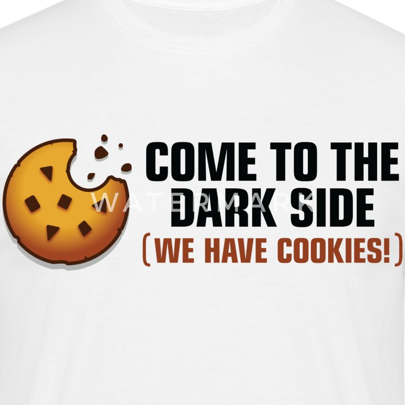 Come To The Darkside 2 (dd)++ T-shirts - Herre-T-shirt