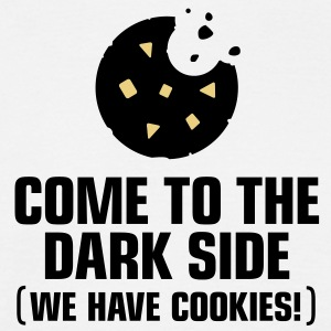 Come To The Darkside 1 (3c)++ T-shirts - Herre-T-shirt