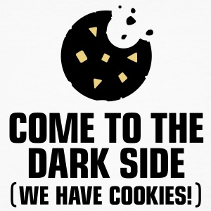 Come To The Darkside 1 (3c)++ T-shirts - Organic mænd
