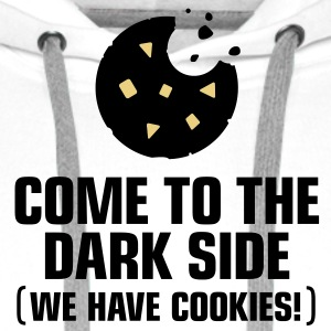 Come To The Darkside 1 (3c)++ Hoodies & Sweatshirts - Men's Premium Hoodie