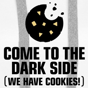 Come To The Darkside 1 (3c)++ Tröjor - Premiumluvtröja dam