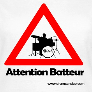 Attention batteur Tee shirts - T-shirt Femme