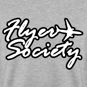Flyer Society Black'N'White Hoodies & Sweatshirts - Men's Sweatshirt