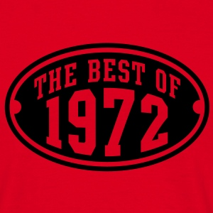 THE BEST OF 1972 - Birthday Geburtstag T-Shirt BR - Mannen T-shirt