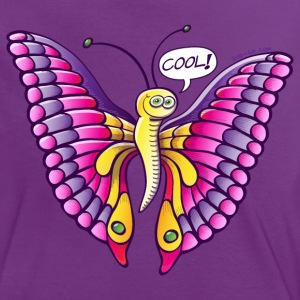 Coolorful Butterfly T-Shirts - Women's Ringer T-Shirt