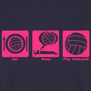 volleyball eat sleep play ballon1 Sweat-shirts - Sweat-shirt Homme