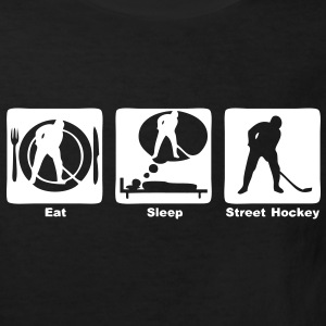 street hockey 303 eat sleep play  Tee shirts Enfants - T-shirt Bio Enfant