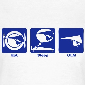 ulm eat sleep play  Tee shirts - T-shirt Femme