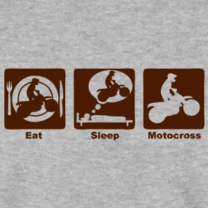 motocross 301 eat sleep play  Sweat-shirts - Sweat-shirt Homme