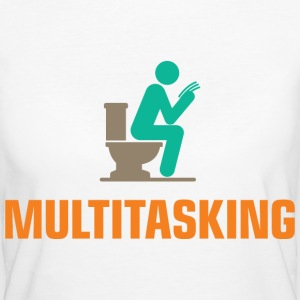Multitasking 1 (dd)++ T-Shirts - Frauen Bio-T-Shirt