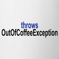 """Nerd T-Shirts mit """"Programmierer Kaffee Exception"""""""