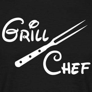 BBQ Grill Chef Barbecue Grill Sports Club - Mannen T-shirt