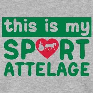 this is my sport attelage tradition 8 Sweat-shirts - Sweat-shirt Homme