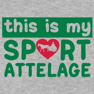 this is my sport attelage tradition 5 Sweat-shirts - Sweat-shirt Homme