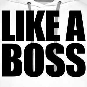 Like a BOSS Sweat-shirts - Sweat-shirt à capuche Premium pour hommes