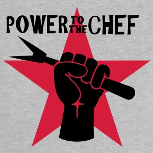 power to the chef ( 2c) Baby Shirts  - Baby T-Shirt